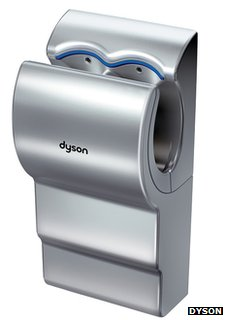 Dysin Airblade hand dryer