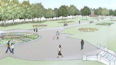 Council plans for park