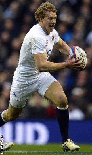 England's Billy Twelvetrees