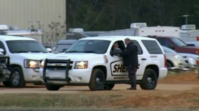 Sheriff vehicle in Alabama