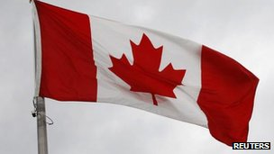 Canadian flag file picture