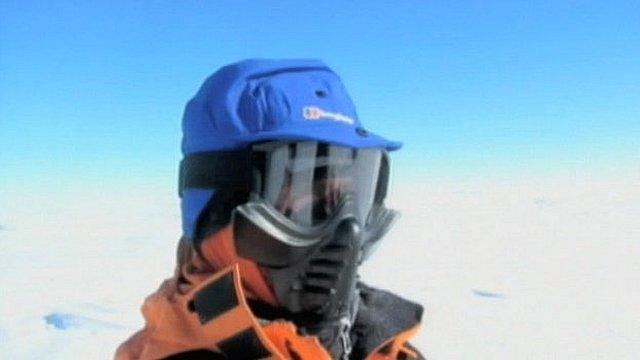 Henry Evans in Antarctica