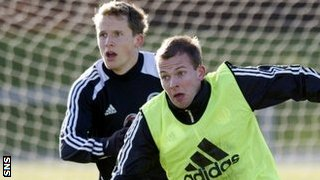 Christophe Berra and Jordan Rhodes