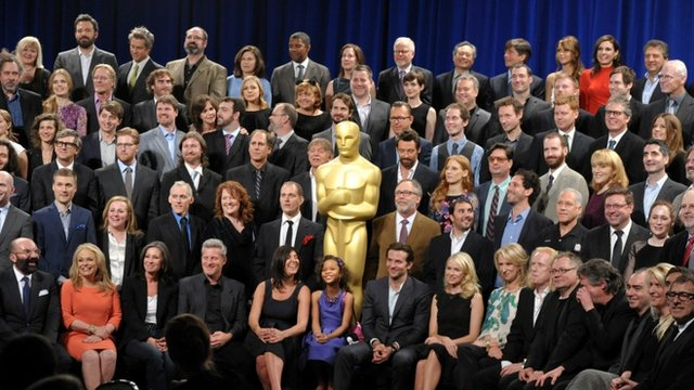 Oscar nominees at the 85th Academy Awards Nominees Luncheon
