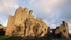 Middleham Castle in Yorkshire