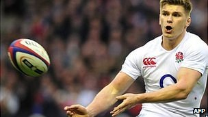 England fly-half Own Farrell