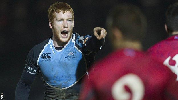 Scotland flanker Rob Harley