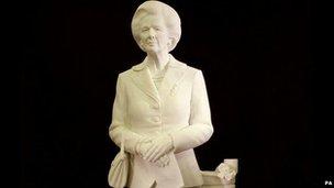 Margaret Thatcher statue