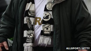 Swansea City fan