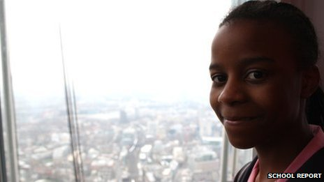 School Reporter Victoria from Harris Academy, Bermondsey, reports from the top of the Shard