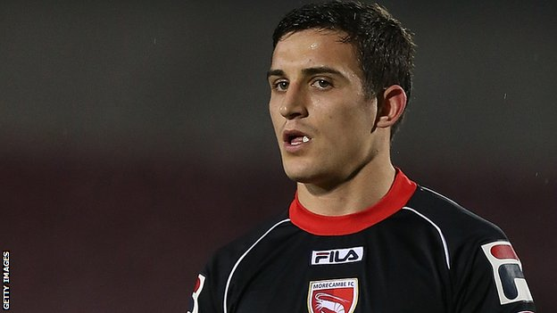 Bbc Sport Jack Redshaw Morecambe Striker Deserved Deal