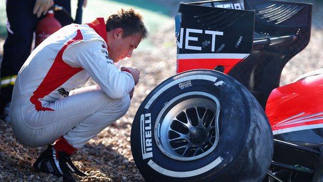 Formula Crash 2013 Formula 1 Test Crash