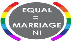 Equal Marriage NI logo