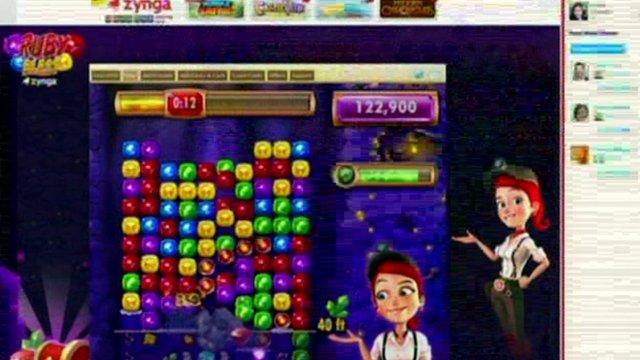 Screen grab of Zynga game