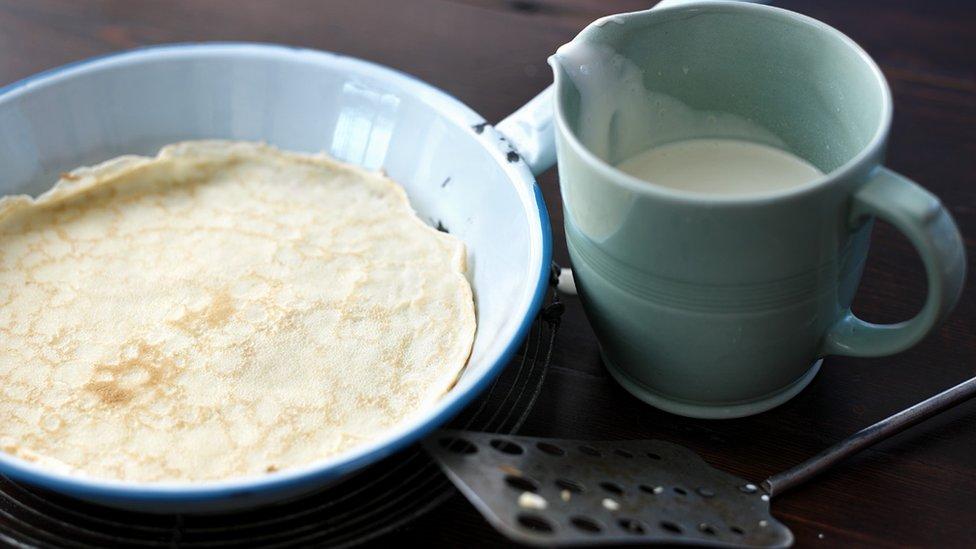 Bbc food pancake day pancakes around the world pancake batter forumfinder Choice Image