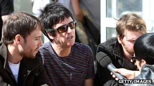 Johnny Marr and The Cribs
