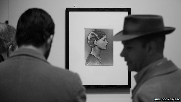 Solarised Portrait of Lee Miller, c. 1929, by Man Ray on show At the National Portrait gallery in London
