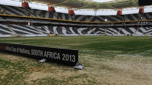 Mbombela Stadium in Nelspruit