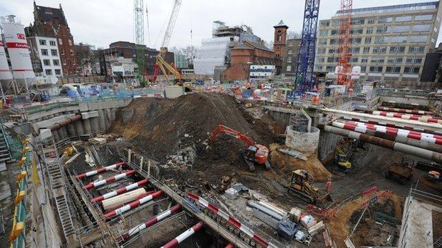 Crossrail site