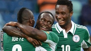 Brown Ideye celebrates
