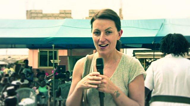 Davina McCall in Ghana.