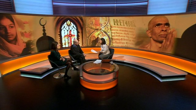 BBC World News debate on religion