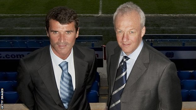 Roy Keane and Simon Clegg