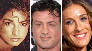 Gloria Estefan, Sylvester Stallone, Sarah-Jessica Parker