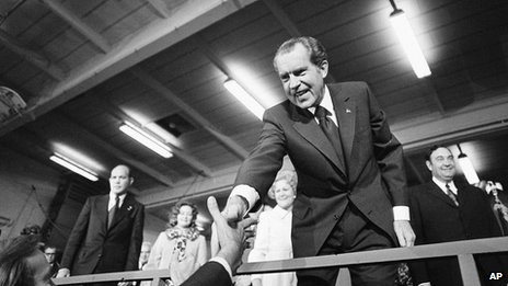 Richard Nixon in 1972