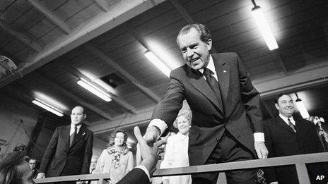 Richard Nixon in 1972