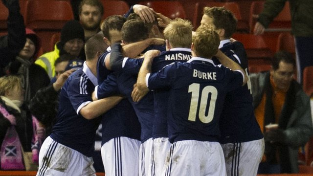 Highlights - Scotland 1-0 Estonia