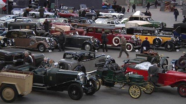 Paris hosts vintage cars auction