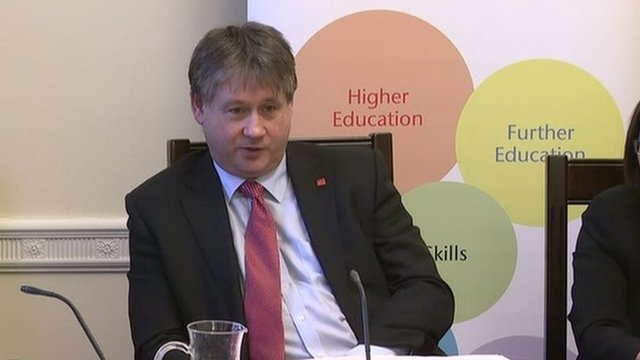 Employment Committee chairman Basil McCrea