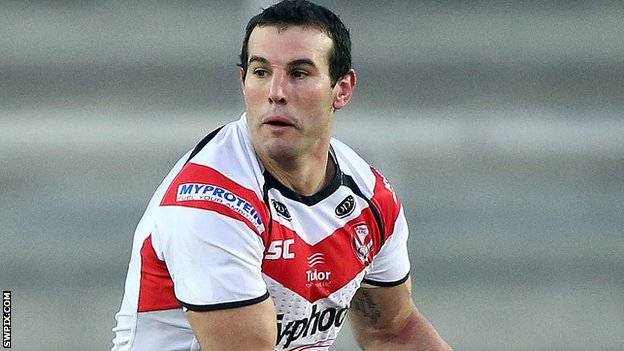 St Helens forward Anthony Laffranchi