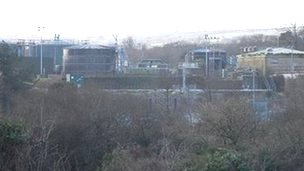 Hayle Sewage Treatment Works