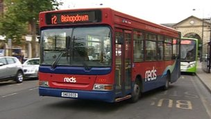 Wilts and Dorset bus