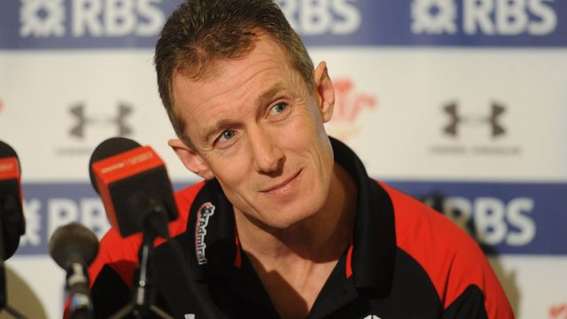 Interim Wales coach Rob Howley