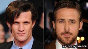 Matt Smith and Ryan Gosling