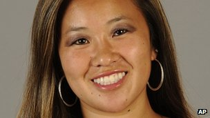 Undated picture of Monica Quan supplied by California State University, Fullerton