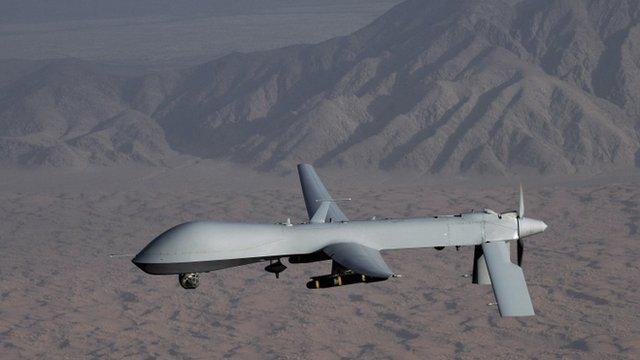 MQ-1 Predator unmanned aircraft (File)