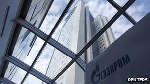 Gazprom headquarters in Moscow, January 2013