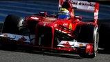Ferrari's Felipe Massa