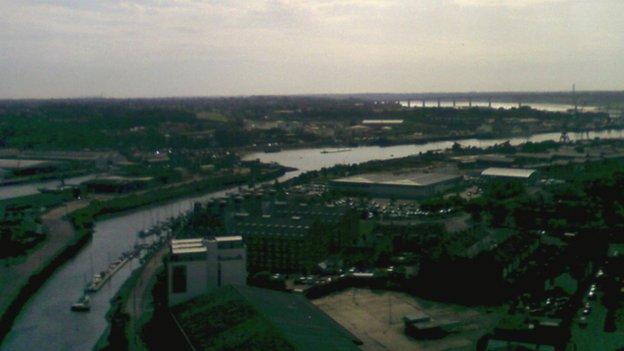 River Orwell, Ipswich