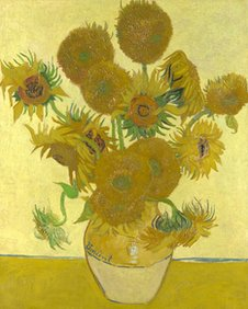 Vincent Van Gogh, Sunflowers (©The National Gallery, London)