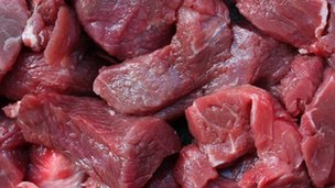 School caterers 'confident' of meat