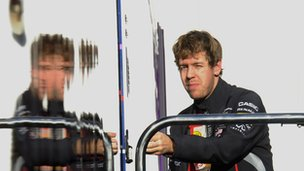 Red Bull&#039;s Sebastian Vettel
