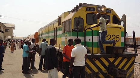 Train at Kaduna
