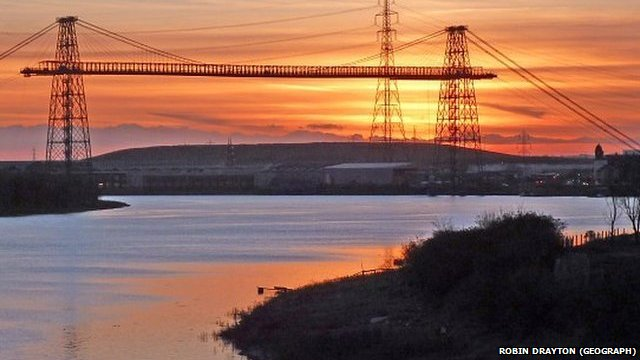 The Transporter Bridge, Newport