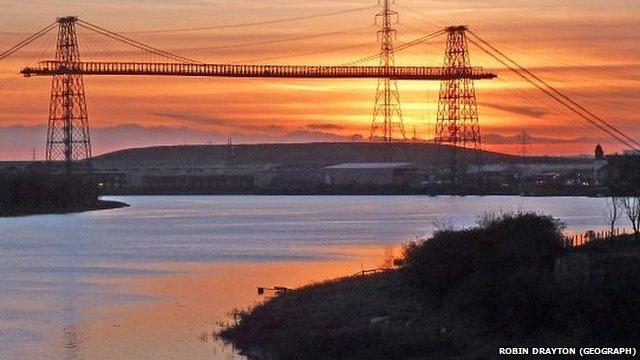 The Transporter Bridge, Newport