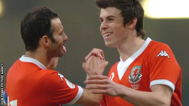 Ryan Giggs and Gareth Bale